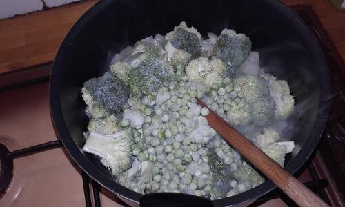 Risotto Brocolis/Petits Pois {Vegan}