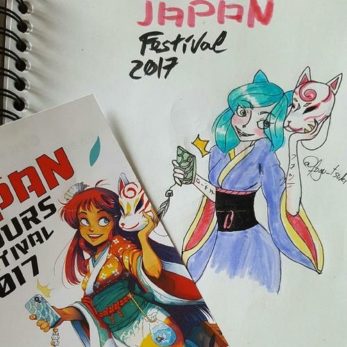 Japan 2017 dessins