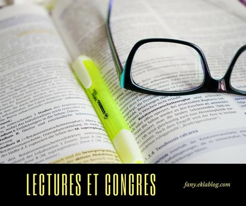 Lectures et congrès