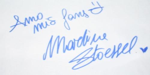 C'est la signature de Tini!!!