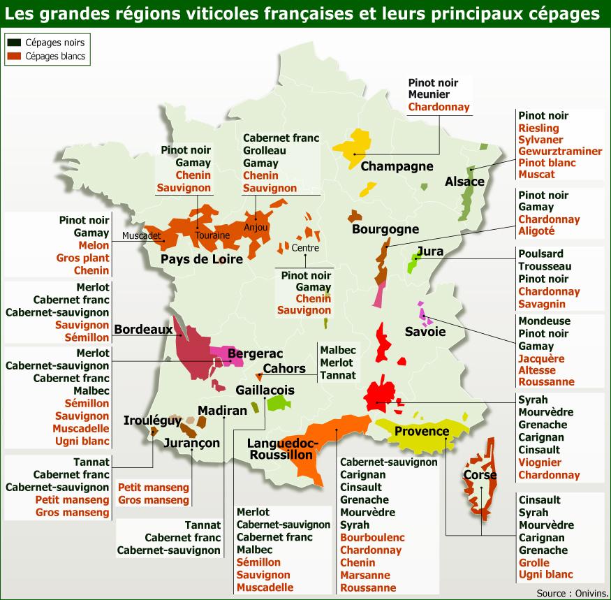 """Résultat de recherche d'images pour """"carte vinicole de france"""""""