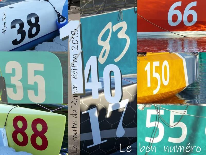 Les numéros de la route du Rhum