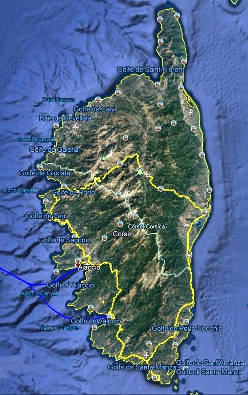 Fin de notre balade Corse
