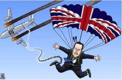 Cameron prisonnier de sa propre tactique