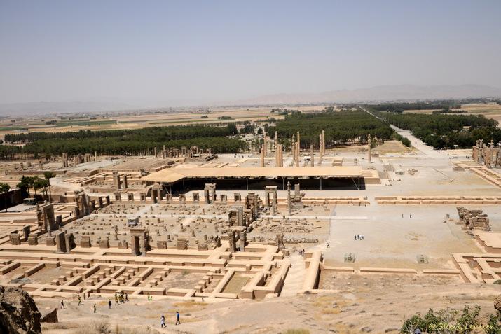 Persépolis, capitale de l'Empire Achéménide, Iran 2018