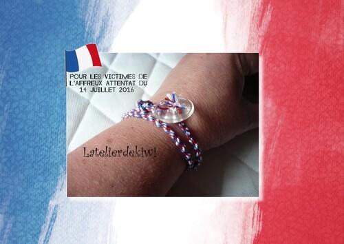 Bracelet 14 juillet