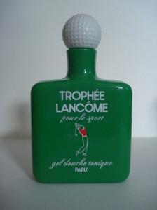 TROPHEE  GEL DOUCHE 60 ml flacon plastique échantillon gratuit