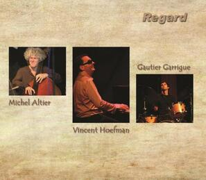 "Pochette album Vincent Hoefman ""Regard"""