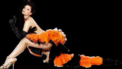 Tubes femmes en orange