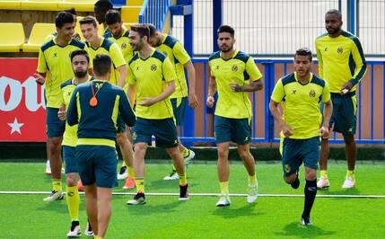 Transfert entrainement/match: entrainement Villarréal