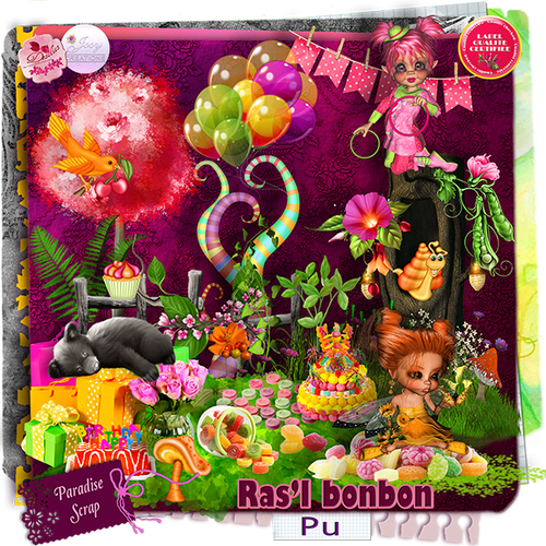 "Collab kit ""Ras l'bonbon"""