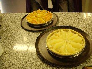 Cours de pâtisserie des étudiants japonais