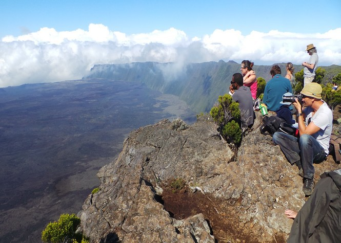 Volcan: L'odeur de soufre perceptible jusqu'au Maïdo