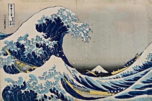 La grande vague d'Hokusaï