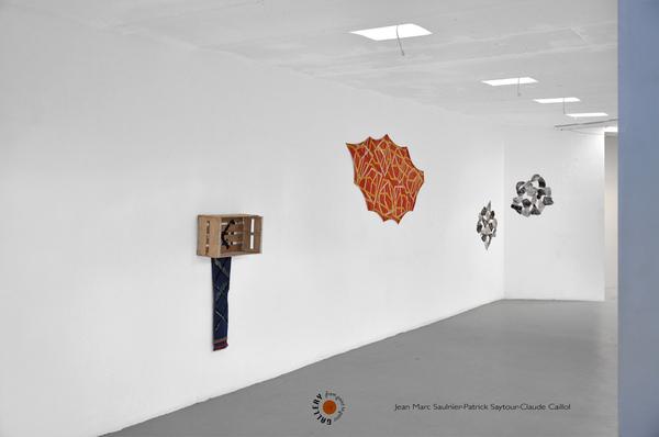 Artistes Saytour Caillol Saulnier Art Marseille Poin to Point Galerie