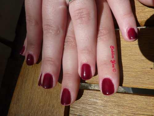Malaga Wine Gel Color