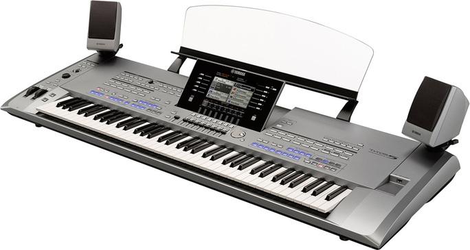 Le clavier Tyros5