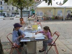 Concours de peinture organisé par la SVA 15 juin 2014 à Fontenay