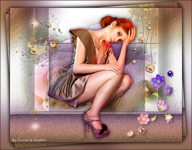FA0016 - Tube femme assise