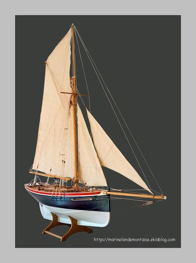 Le Saint Michel II cotre pilote