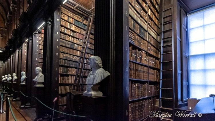 Irlande : Dublin da Bibliothèque du Trinity Collège