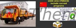 GUOLI INDUSTRIES:  capacités de 40 à 60 tonnes.