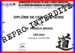 Diplômes Bruno