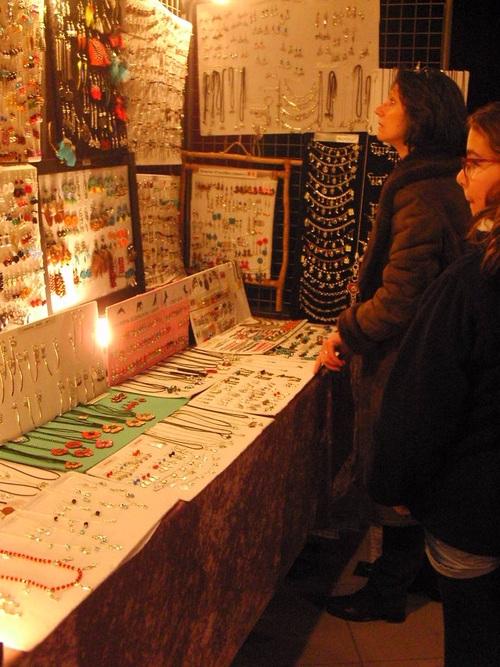 Exposition de mes bijoux sur le marché de noël de Notre Dame d'Oé
