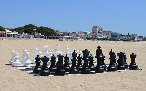 jeu d'échecs plage de Royan-1-