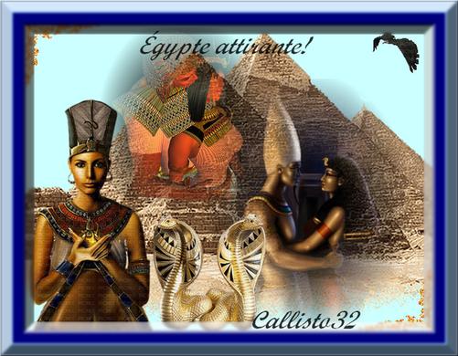 ÉGYPTE ATTIRANTE! (ma création)