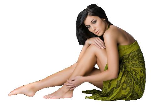 Nouvelle femmes verte