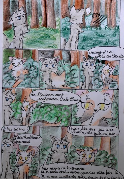 BD la Guerre des Clans - Retour à l'état sauvage : Page 5 (nouveau)