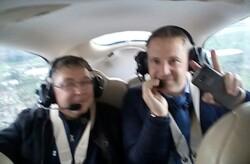 1er vol de transport civil privé depuis Châteaudun : une réussite qui en attend d'autres !