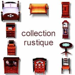 Collection rustique
