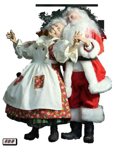 Tubes : Père Noel Jeannette