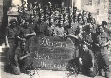 Les hommes du 6è bataillon du 25è RI