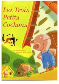 """Résultat de recherche d'images pour """"les trois petits cochons rue des contes cp"""""""