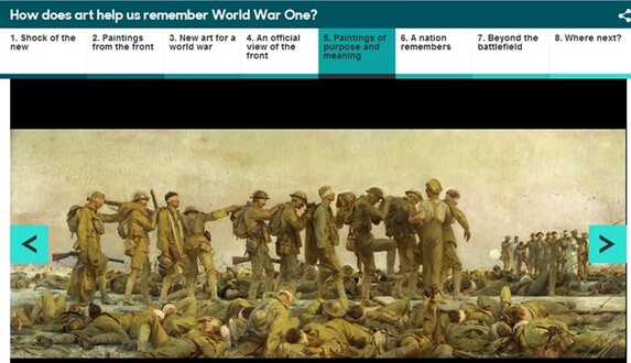 HOW DOES ART HELP US REMEMBER WWI?