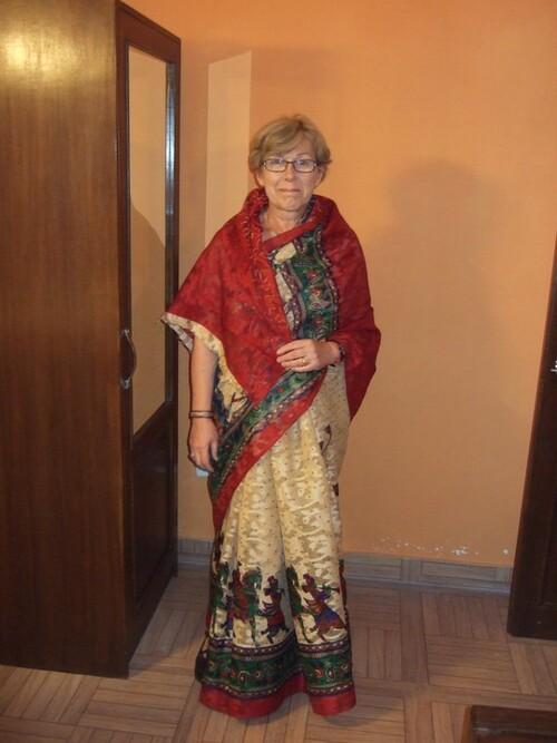Inde 2015- Jour 8- Village de Achrol- soirée