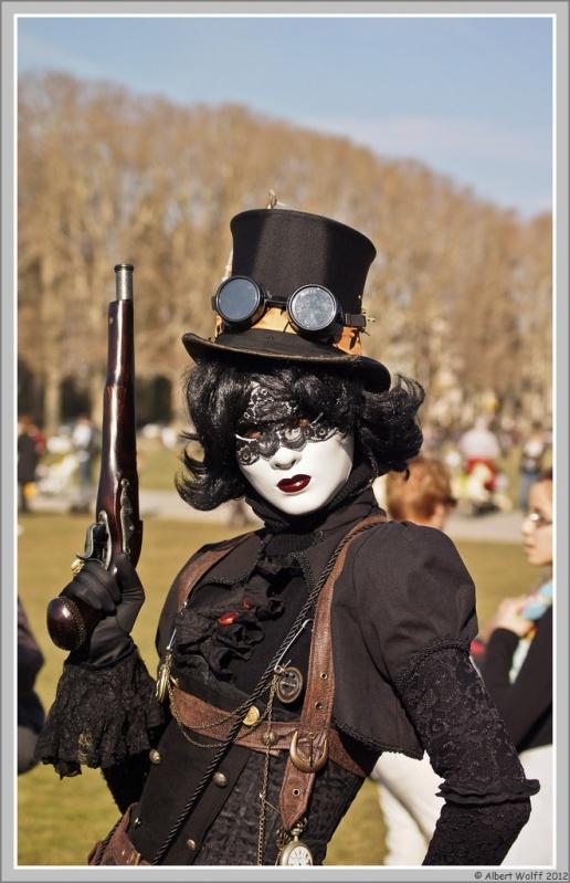 Annecy, carnaval vénitien (noir)