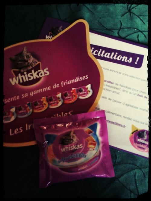 Test# Les irresistibles de Whiskas