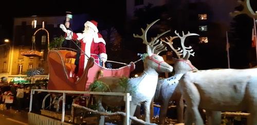 Une parade de Noël enchantée