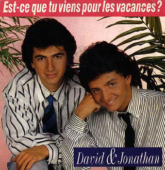 David et Jonathan, épicuriens de la modernité