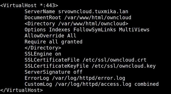Installer OwnCloud sous CentOS 7