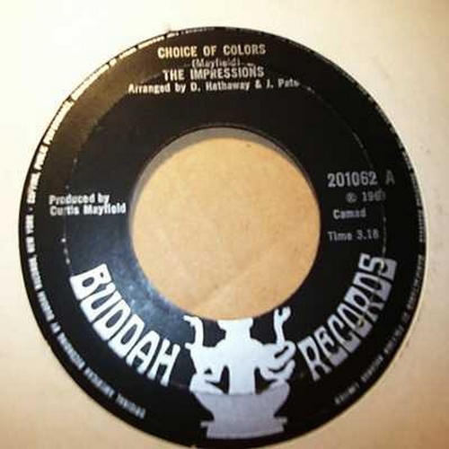 1969 : Single SP Curtom Records CR 1943 [ US ]