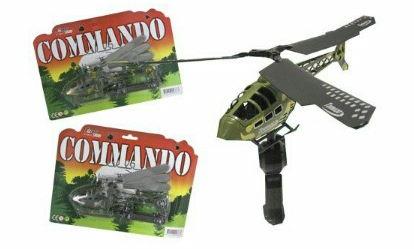 Hélicoptère Commando lanceur