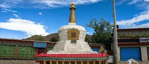 23. Le monastère de Shalu