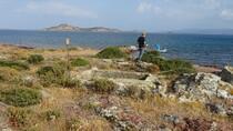 site des anciennes tombes dans la roche à Palios