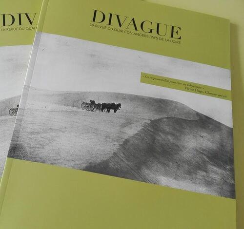 Extraits de texte dans la belle revue Divague - CdN d'Angers