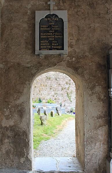 Ste Engrâce -8- l'église romane
